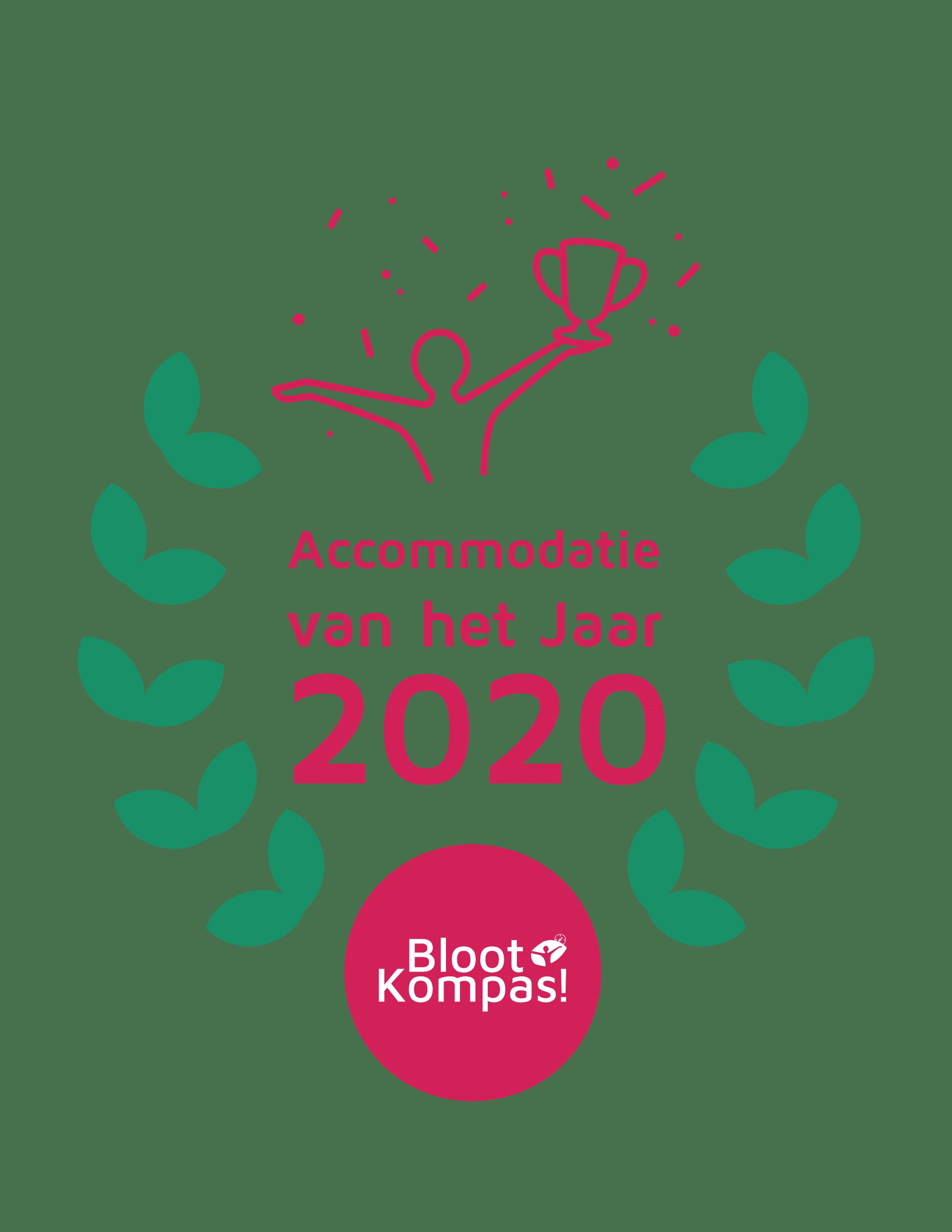 BlootKompas! Awards 2020 - Accommodatie van het Jaar