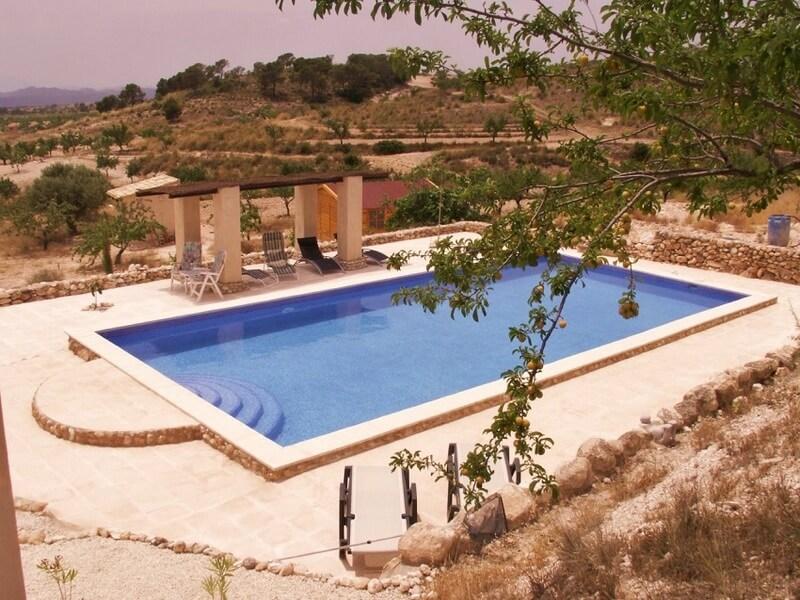 Casa-de-Cinco-Hermanos-het-zwembad
