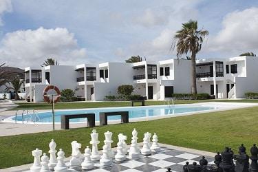Castillo de Papagayo schaken