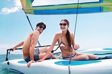Couples Sans Souci Sailing