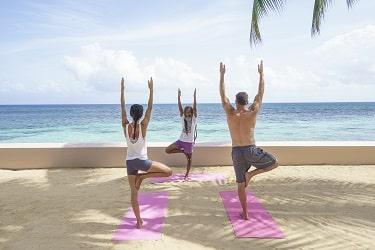Couples Sans Souci yoga