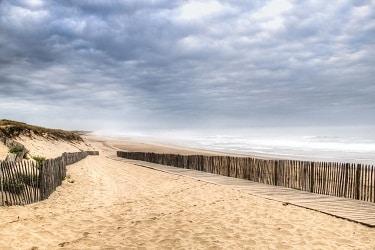 Kust Frankrijk Atlantische Oceaan