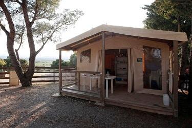 Le Clapotis tent