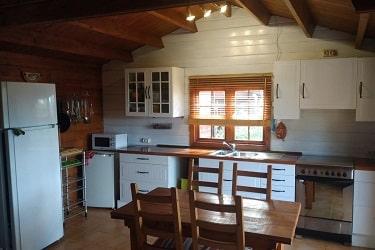 Lodge Cegonha keuken
