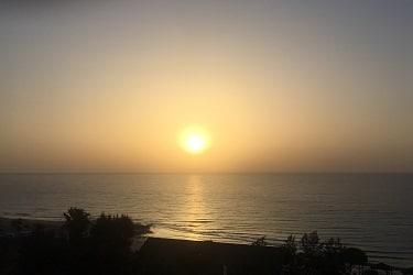 Monte Marina zonsondergang