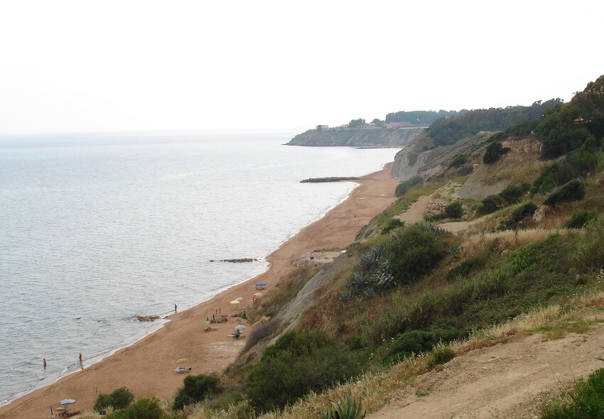 Pizzo-Greco-Strand