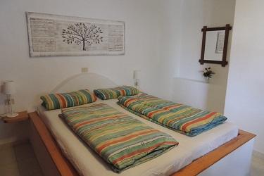 Slaapkamer klein terras