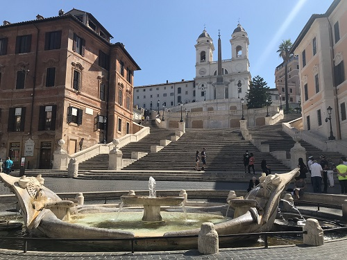 Spaanse trappen, Rome