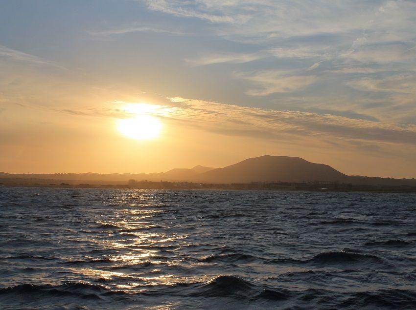 Zonsondergang-Los-Lobos-Captain-Cook