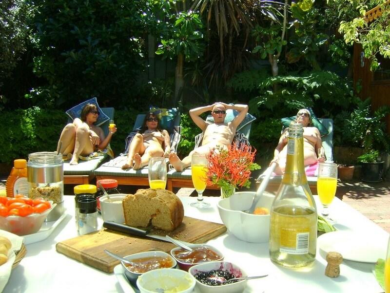 Zuid-Afrika-Houtbay-BB-eten